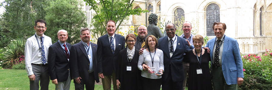 Some of the Warnborough Council members