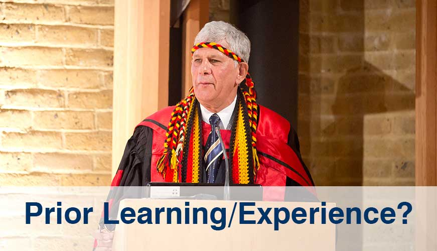 Accreditation of Prior Learning or Experience