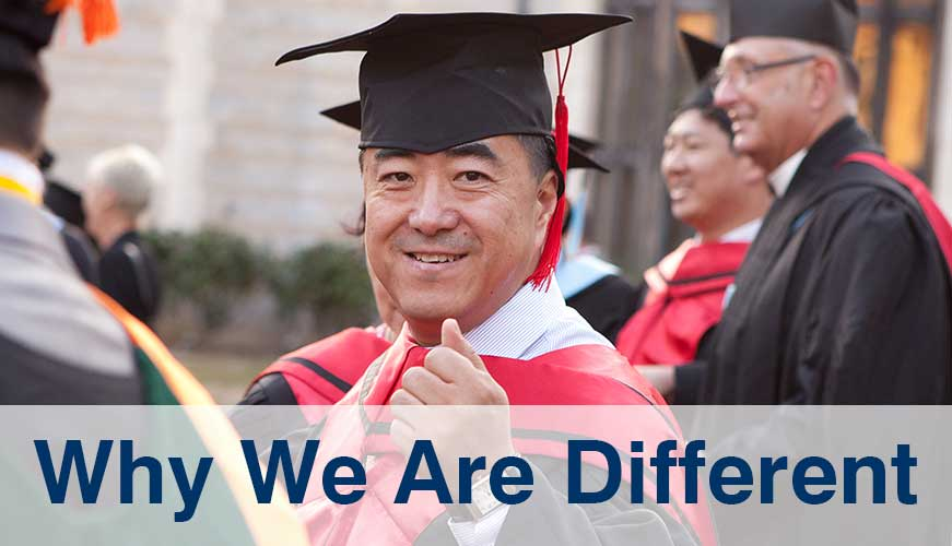 Why we are different at Warnborough College