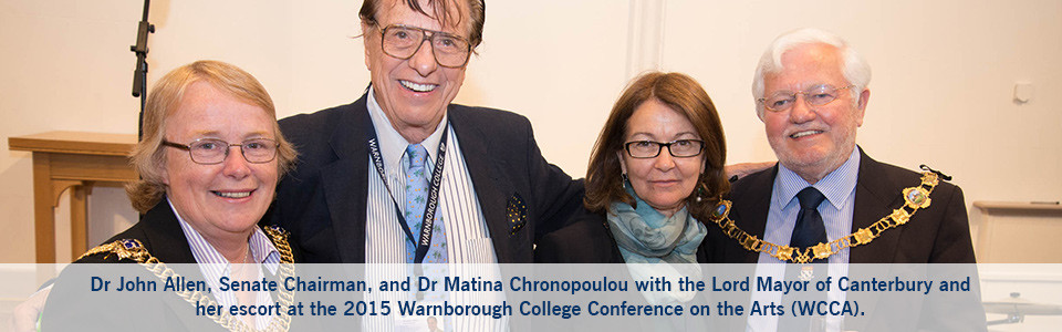 The 2015 Warnborough College Conference on the Arts (WCCA) was a clear success