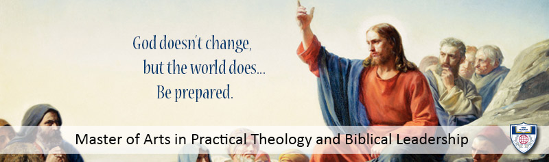 MA Practical Theology and Biblical Leadership